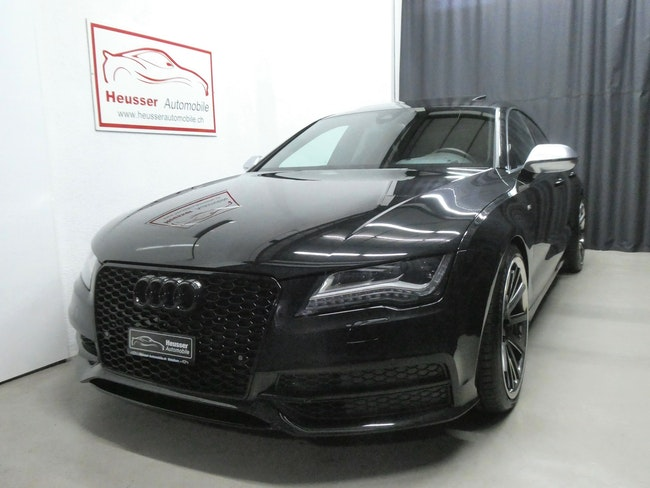 Audi S7 / RS7 S7 Sportback 4.0 TFSI V8 quattro S-tronic - S-Sportsitze - Head-Up - 20´´ Alu - 420 PS 71'500 km 36'800 CHF - acheter sur carforyou.ch - 1
