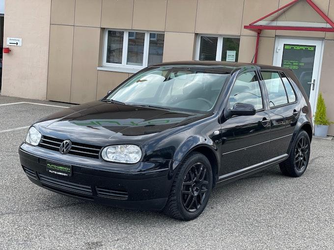 VW Golf 1.6 16V Pacific 133'000 km 1'850 CHF - buy on carforyou.ch - 1
