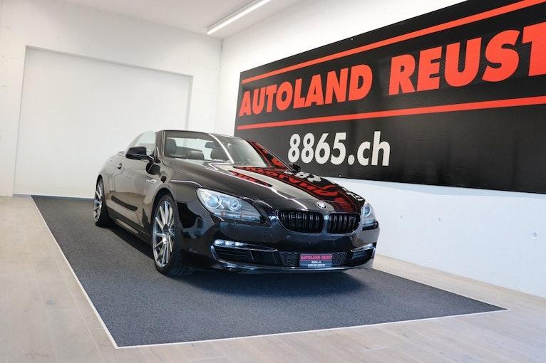 BMW 6er 650i Cabrio 72'500 km CHF29'990 - acquistare su carforyou.ch - 1