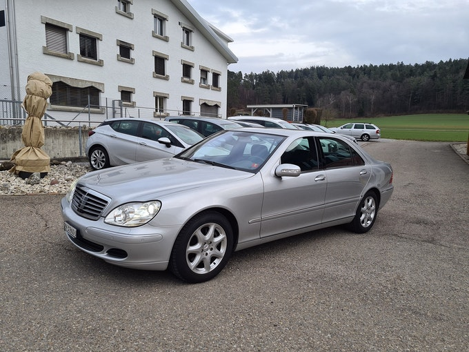 Mercedes-Benz S-Klasse S 500 4Matic 134'000 km 11'950 CHF - buy on carforyou.ch - 1