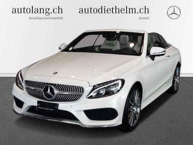 Mercedes-Benz C-Klasse C 200 AMG Line 4Matic Cabriolet 33'600 km 42'800 CHF - buy on carforyou.ch - 1