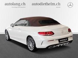 Mercedes-Benz C-Klasse C 200 AMG Line 4Matic Cabriolet 33'600 km 42'800 CHF - buy on carforyou.ch - 3
