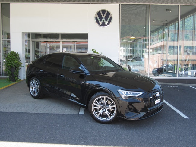 Audi e-tron 55 Sportback S Line quattro 9'300 km 78'900 CHF - kaufen auf carforyou.ch - 1