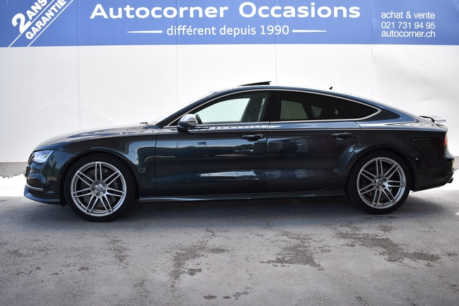 Audi S7 / RS7 S7 Sportb. 4.0 TFSI V8qu 103'000 km 34'900 CHF - acheter sur carforyou.ch - 1