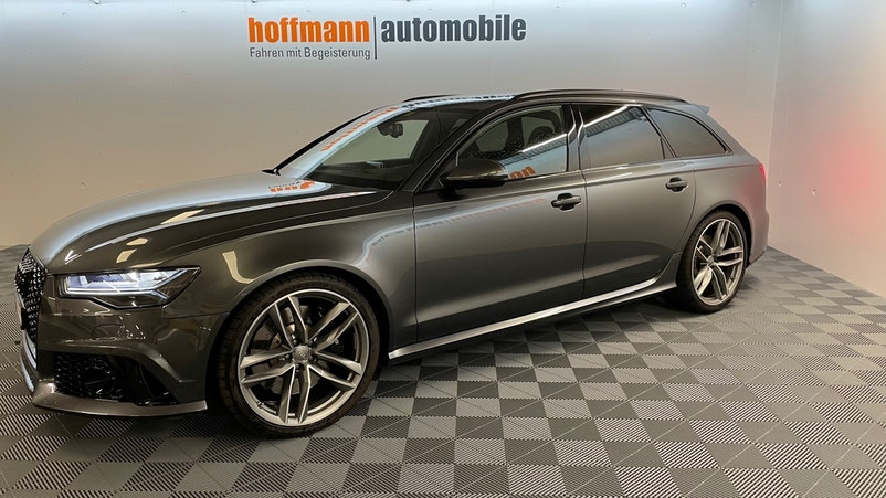 Audi S6 / RS6 RS6 Avant 4.0 TFSI V8 performance quattro 40'710 km CHF82'900 - kaufen auf carforyou.ch - 1