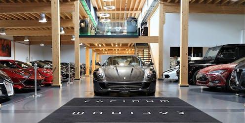 Ferrari 599 GTB 94'500 km CHF89'900 - acheter sur carforyou.ch - 2
