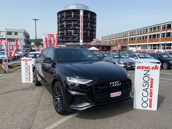 Audi Q8 45 TDi S-Line Black Edition quattro Tiptronic-Automat 15'600 km 78'500 CHF - acquistare su carforyou.ch - 1