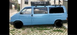 VW T4 1.9TD lang Camping Bus, Familie, Allrounder 190'000 km CHF9'999 - acheter sur carforyou.ch - 2