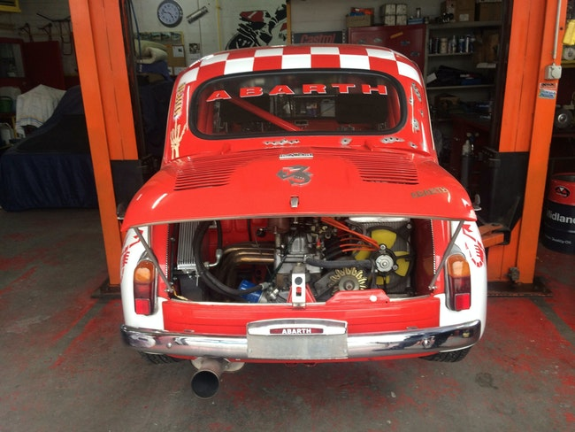 Fiat Abarth 1000 Rennwagen. 20'000 km CHF26'000 - kaufen auf carforyou.ch - 1