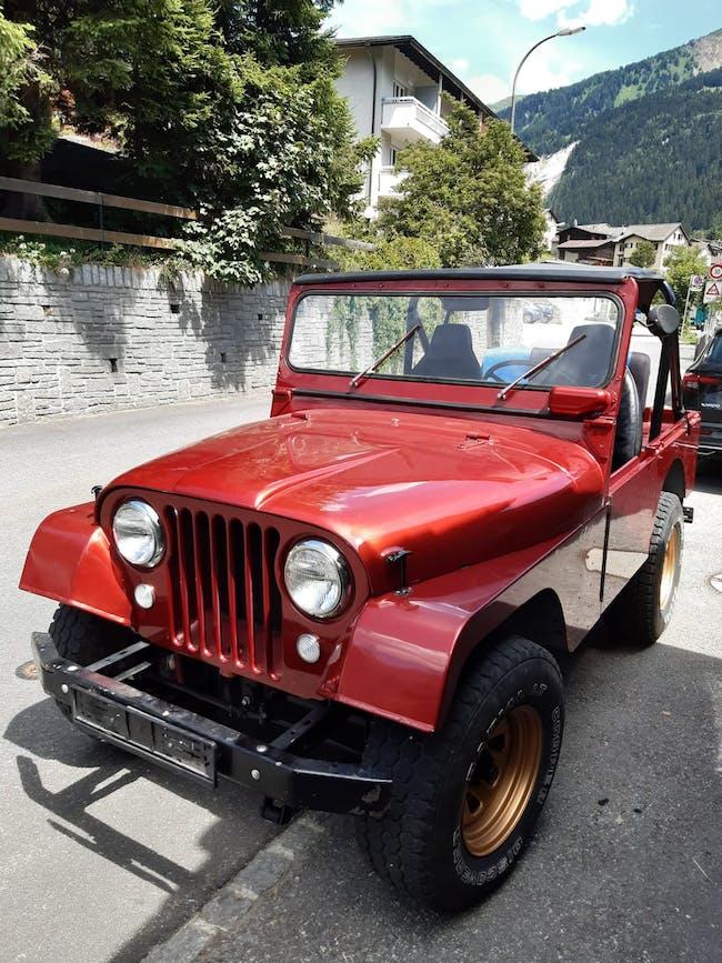 Jeep CJ-7 KAISER JEEP CJ 5 2'980 km CHF15'000 - kaufen auf carforyou.ch - 1