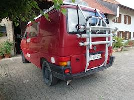 VW T4 Campingbus mit Hubdach voll ausgestattet - ab MFK 250'000 km CHF18'500 - kaufen auf carforyou.ch - 3