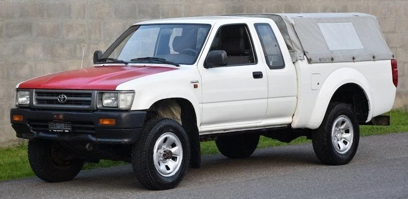 Toyota Hilux HI-LUX Hilux RN 110 X-TRA Cab SR5 135'000 km CHF6'300 - acquistare su carforyou.ch - 1
