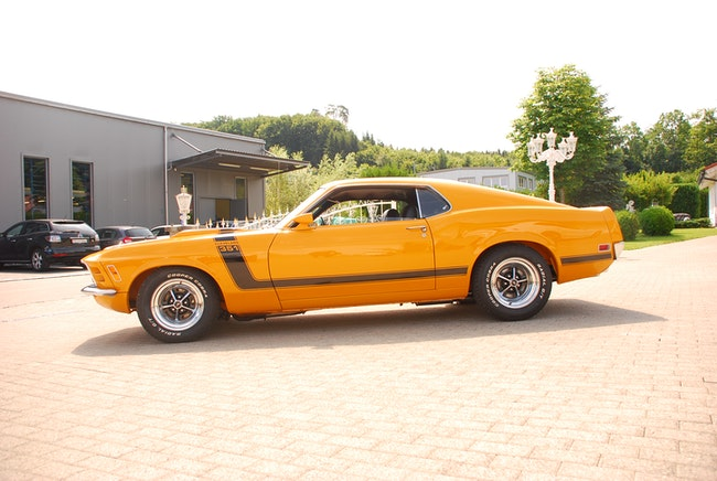 Ford USA Mustang Mach 1 Fastback 351 Cleveland 250 km CHF89'000 - acheter sur carforyou.ch - 1