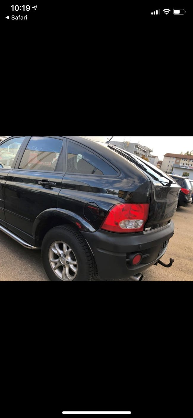 SsangYong Actyon 200 Xdi 4WD Comfort 116'000 km CHF4'900 - acquistare su carforyou.ch - 1