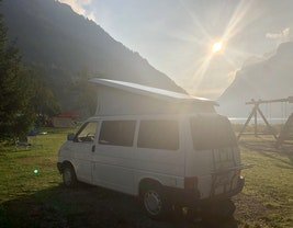 VW T4 Beach Camper Automat Benziner 330'000 km CHF12'500 - acheter sur carforyou.ch - 2