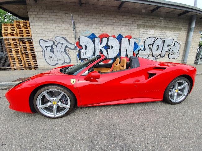 Ferrari 488 3.9 Spider 18'600 km CHF220'000 - buy on carforyou.ch - 1