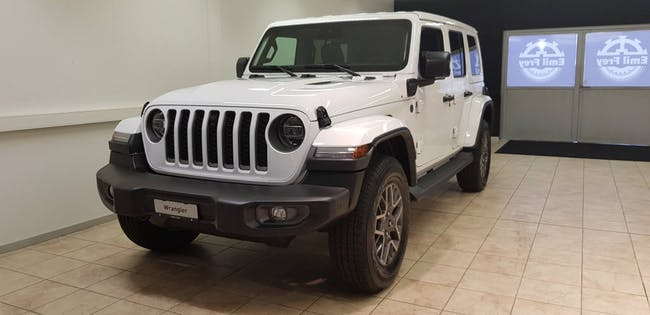 Jeep Wrangler 2.0 Turbo First Edition Unlimited 4xe 25 km CHF84'900 - acheter sur carforyou.ch - 1