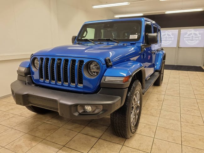 Jeep Wrangler 2.0 Turbo 80th Anniversary Unlimited 4xe 25 km CHF87'640 - acheter sur carforyou.ch - 1