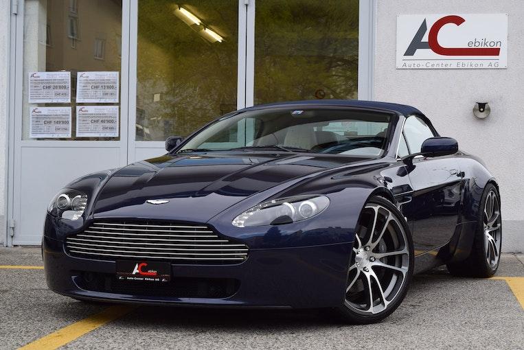 Aston Martin V8/V12 Vantage V8 Vantage 4.3 Sportshift 50'000 km CHF54'900 - kaufen auf carforyou.ch - 1