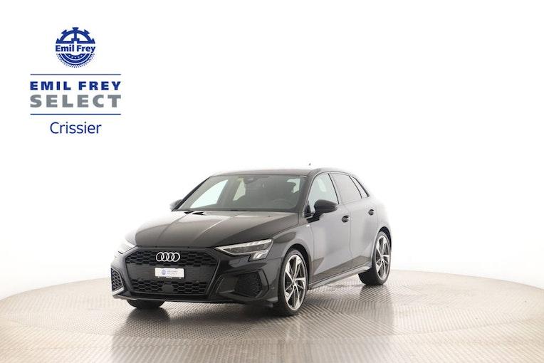 Audi A3 Sportback 1.5 35 TFSI S Line Attraction S-Tronic 17'055 km CHF40'000 - buy on carforyou.ch - 1