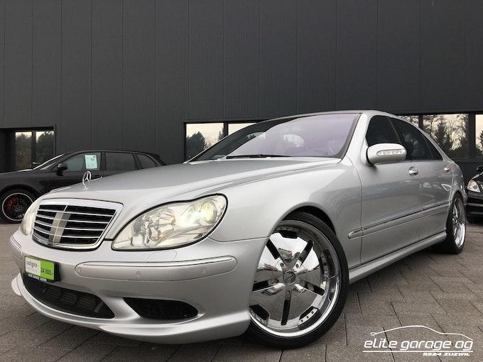 Mercedes-Benz S-Klasse S-CLASS S 55 L AMG 73'900 km CHF24'800 - buy on carforyou.ch - 1
