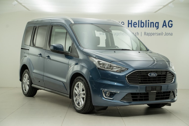 Ford Connect TOURNEO CONNECT 1,5 EcoBlue 120 Titanium 6'500 km CHF29'990 - acquistare su carforyou.ch - 1