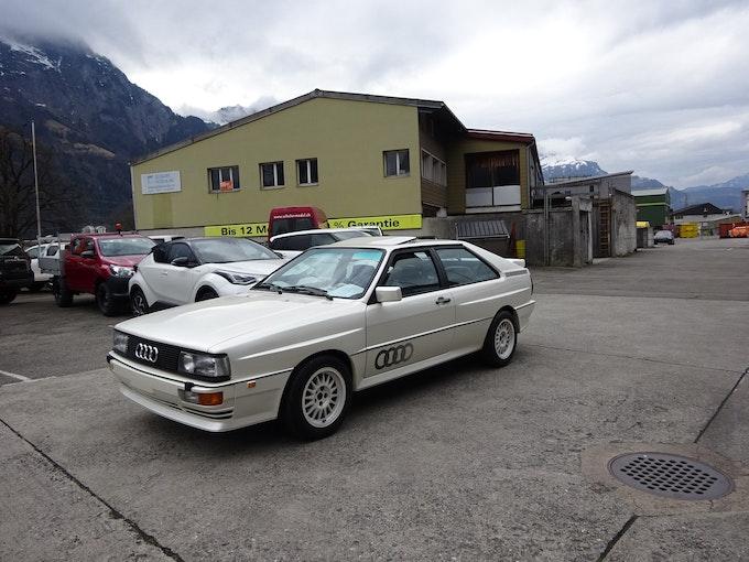 Audi Coupé quattro quattro Turbo Spec. Edit. 133'700 km CHF69'800 - kaufen auf carforyou.ch - 1