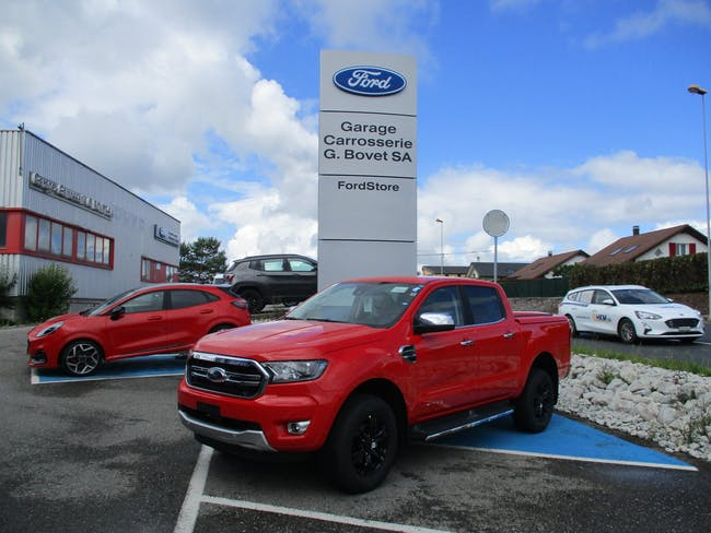 Ford Ranger dcab.pick-up 2.0 EcoBlu Limited 15 km CHF46'900 - buy on carforyou.ch - 1