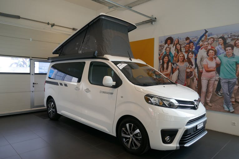 Toyota Proace CROSSCAMP 2.0 BlueHDI S&S 150 CV BVM6 - 6 Places 100 km CHF61'900 - kaufen auf carforyou.ch - 1