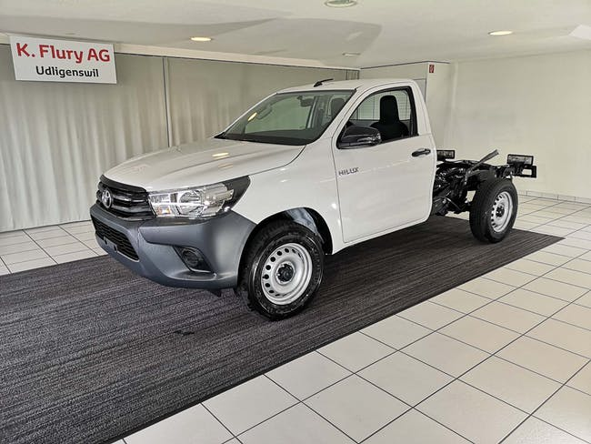 Toyota Hilux Single Cab.-Chassis 2.4 D-4D 150 Comfort 25 km CHF32'800 - acheter sur carforyou.ch - 1