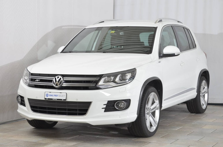 VW Tiguan 2.0 TDI BMT Cup R-Line 4Motion DSG 63'300 km CHF24'800 - buy on carforyou.ch - 1