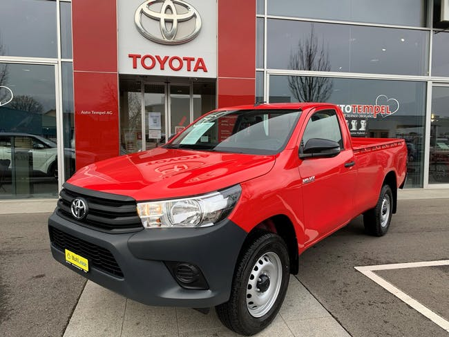 Toyota Hilux HI-LUX Hilux 2.4D-4D Comfort Single Cab 4x4 10 km CHF37'480 - buy on carforyou.ch - 1