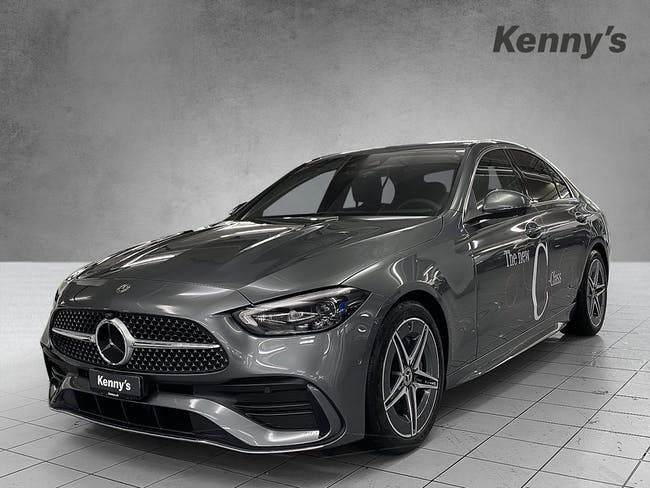 Mercedes-Benz C-Klasse C 200 AMG Line 4Matic 10 km CHF66'200 - buy on carforyou.ch - 1