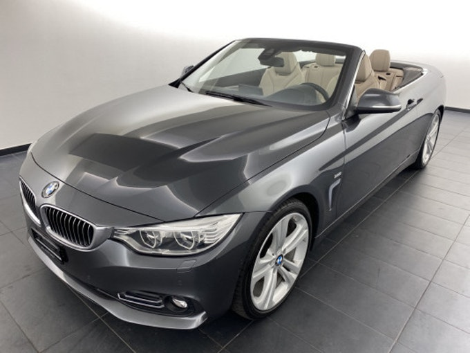 BMW 4er 420d Cabrio Luxury Line 77'200 km CHF29'800 - buy on carforyou.ch - 1