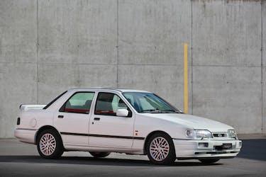 Ford Sierra Cosworth 4x4 1991, Veteranengeprüft 120'000 km CHF32'500 - buy on carforyou.ch - 2