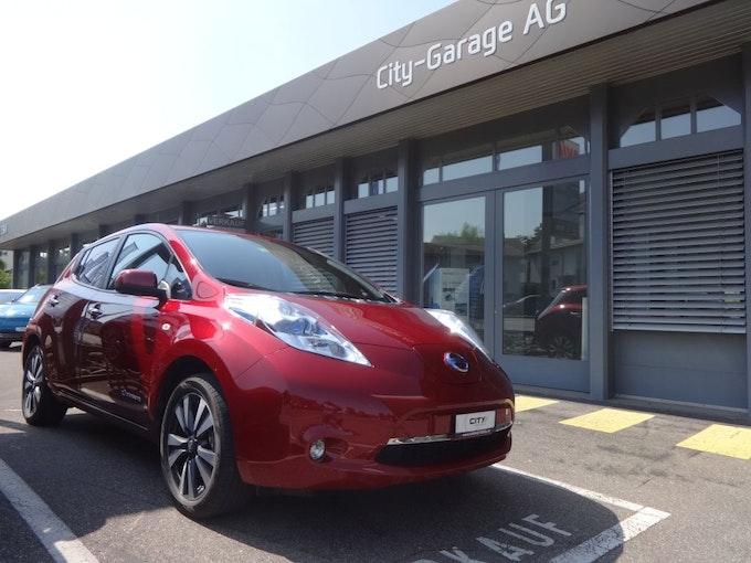 Nissan Leaf Tekna 24kWh (incl battery) 37'000 km CHF13'500 - kaufen auf carforyou.ch - 1