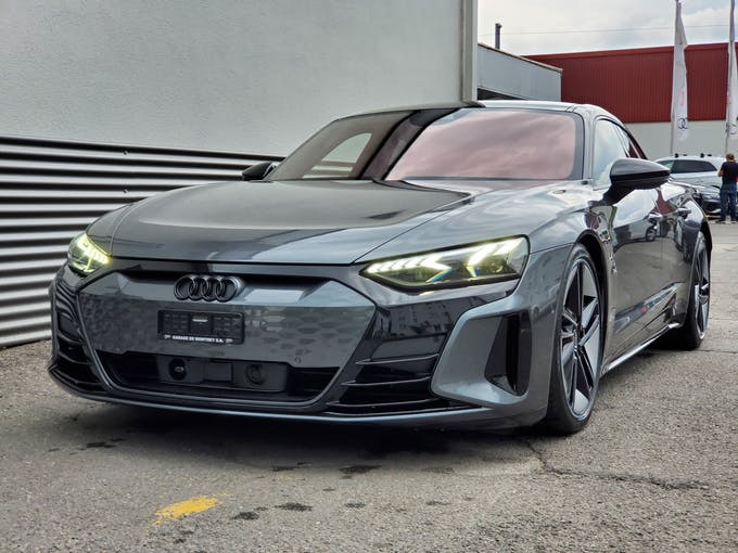 Audi e-tron GT RS e-tron GT quattro 3'800 km CHF159'900 - kaufen auf carforyou.ch - 1