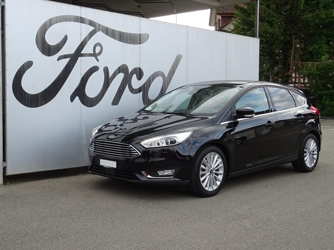 Ford Focus 1.0i EcoB 125 Titanium X 53'916 km CHF12'490 - buy on carforyou.ch - 1