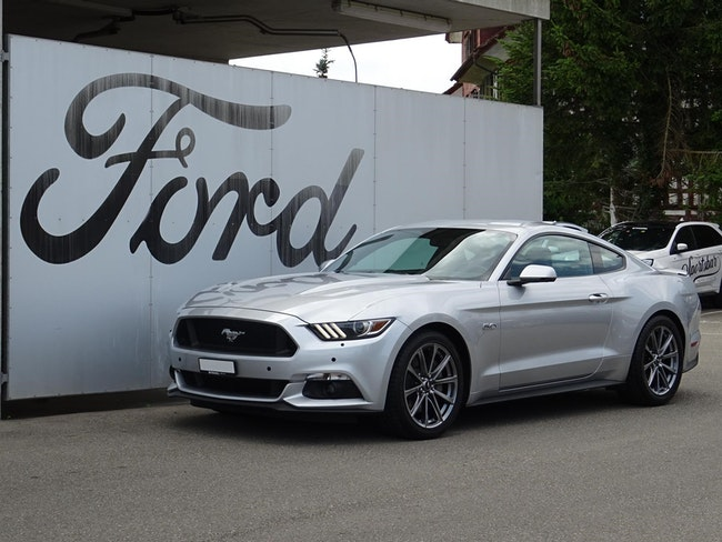 Ford Mustang Coupé 5.0 V8 GT 31'900 km CHF39'890 - buy on carforyou.ch - 1