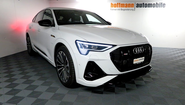 Audi e-tron 50 Sportback S Line quattro 8'000 km CHF101'990 - acquistare su carforyou.ch - 1