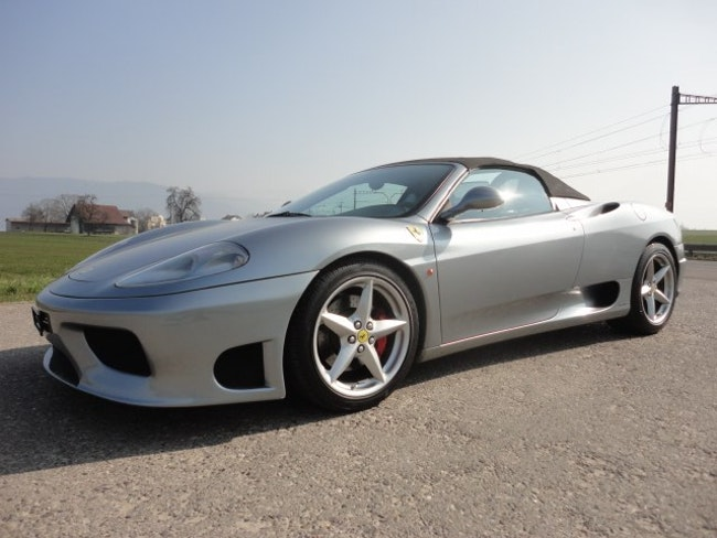 Ferrari 360 F360 Spider 63'000 km CHF69'980 - acheter sur carforyou.ch - 1