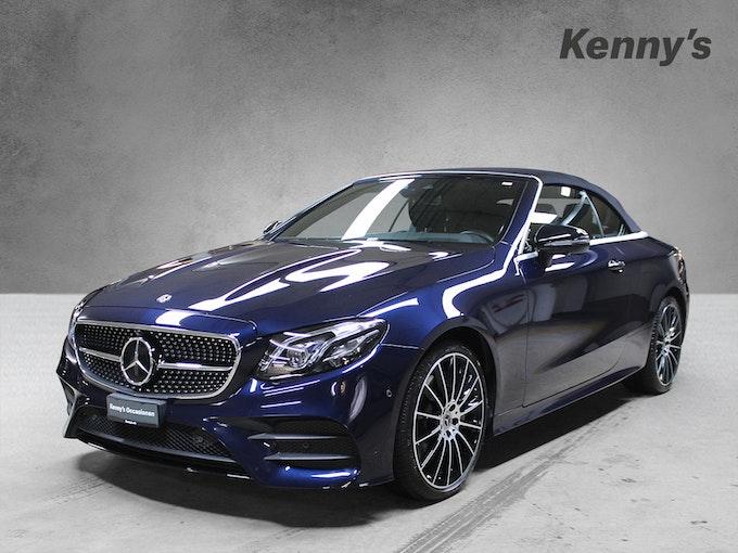 Mercedes-Benz E-Klasse E 450 AMG Line 4Matic Cabriolet 22'000 km CHF76'600 - buy on carforyou.ch - 1