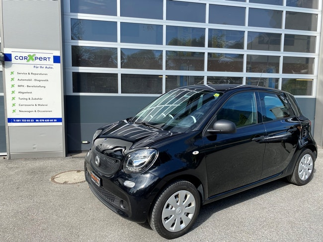 Smart Forfour passion 64'000 km CHF6'700 - buy on carforyou.ch - 1