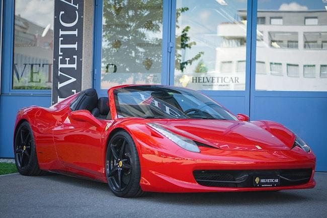 Ferrari 458 Spider Italia 4.5 V8 81'500 km CHF162'900 - buy on carforyou.ch - 1