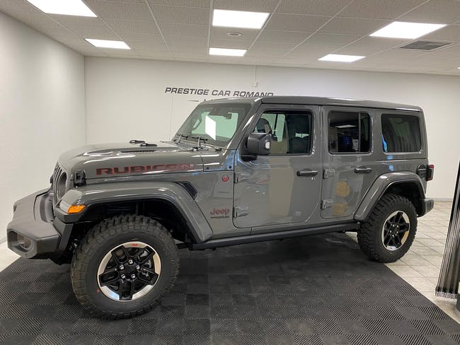 Jeep Wrangler 2.0 Unlimited Rubicon Automatic 999 km CHF73'800 - acheter sur carforyou.ch - 1