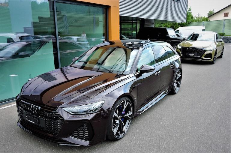 Audi RS6 Avant 4.0 TFSI V8 qu 9'900 km CHF149'900 - kaufen auf carforyou.ch - 1