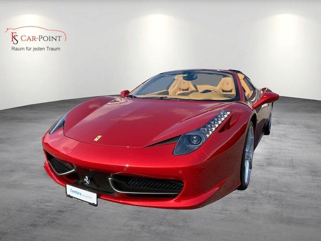 Ferrari 458 Spider Italia 4.5 V8 Rosso Fuoco 38'000 km CHF179'900 - buy on carforyou.ch - 1