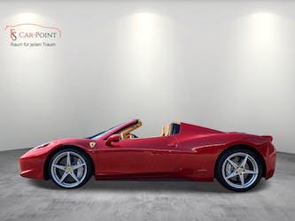 Ferrari 458 Spider Italia 4.5 V8 Rosso Fuoco 38'000 km CHF179'900 - kaufen auf carforyou.ch - 2