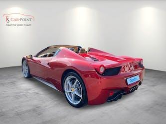 Ferrari 458 Spider Italia 4.5 V8 Rosso Fuoco 38'000 km CHF179'900 - kaufen auf carforyou.ch - 3