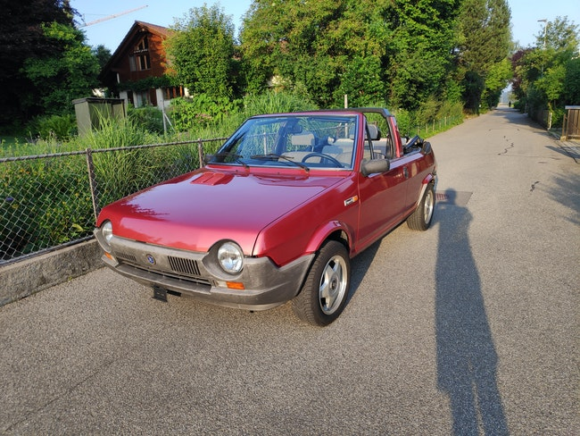Fiat Ritmo Bertone Cabrio 65'000 km CHF7'200 - kaufen auf carforyou.ch - 1